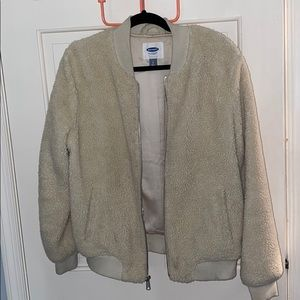 old navy sherpa jacket